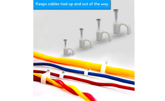 plastic cable clips