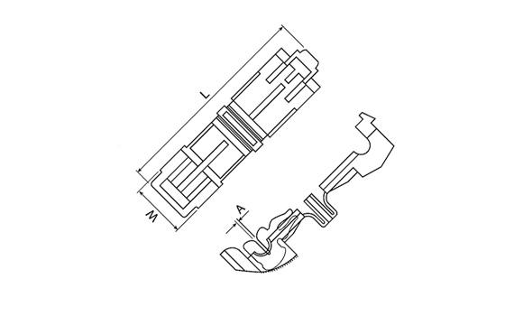 Single splice connectors