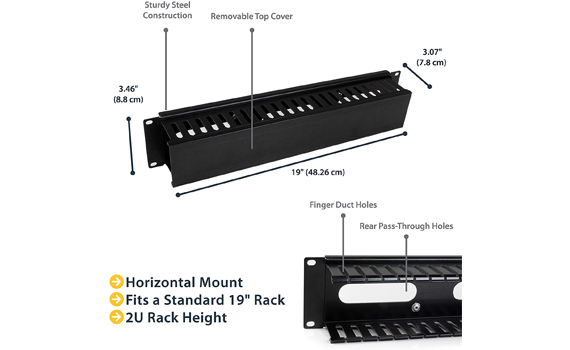 rack mount cable management
