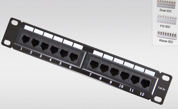 patch panel 12port