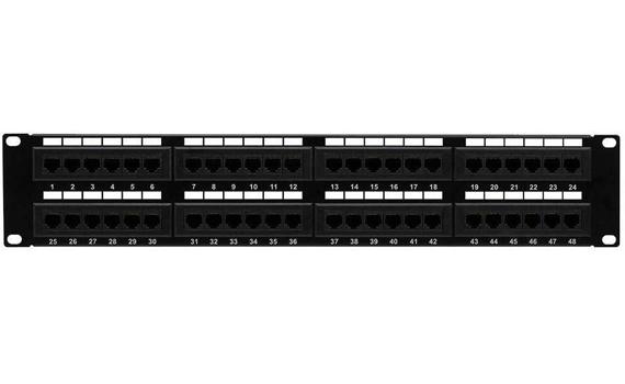 48 port cat6 patch panel