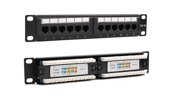 cat5e switch panel