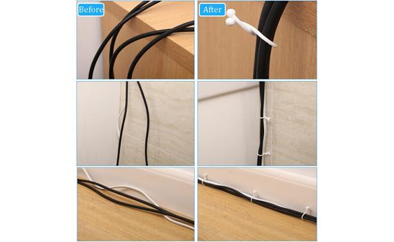 U-shaped twist clips