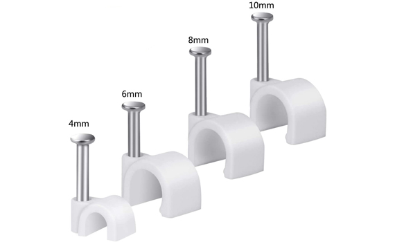 cable wall clips