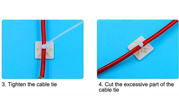 zip tie mounting base