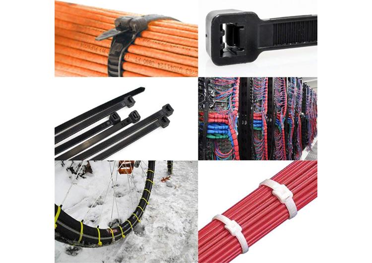 heavy duty reusable zip ties