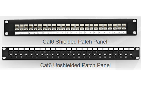 shielded patch panel