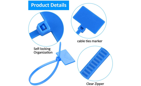 zip tie identification tags
