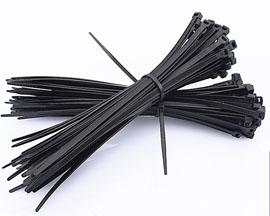 UV black cable ties