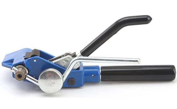 metal cable tie tensioning tool