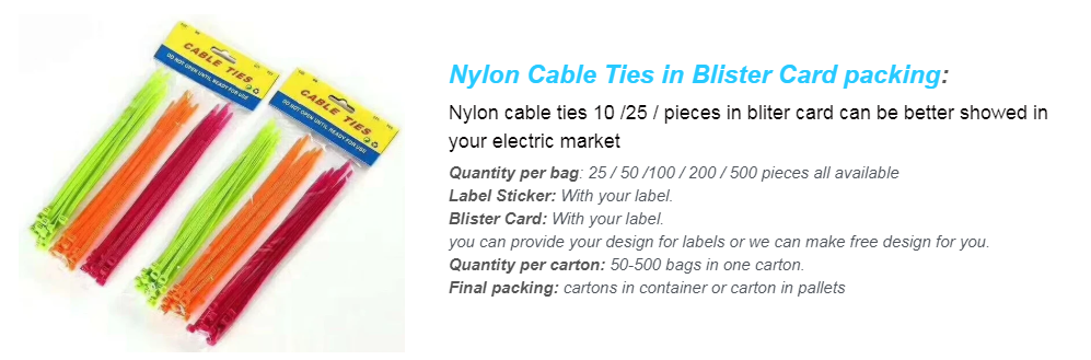 bulk nylon cable ties