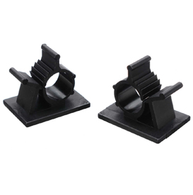 adhesive cable clamp