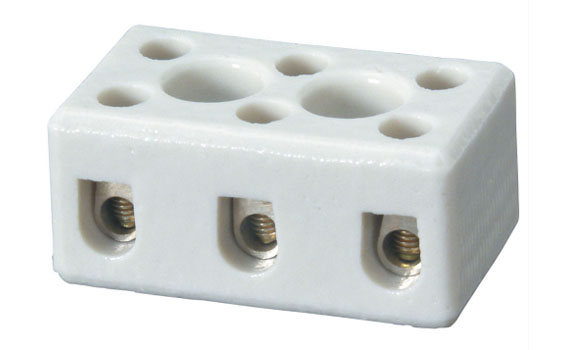 ceramic terminal block 2 pole