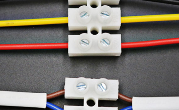 chocolate block wire connector