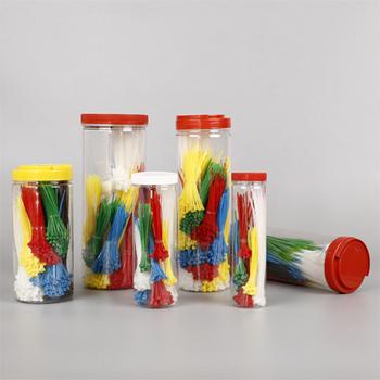 bulk cabel tie in jar packing