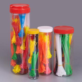 cabel tie in bulk in jar packing