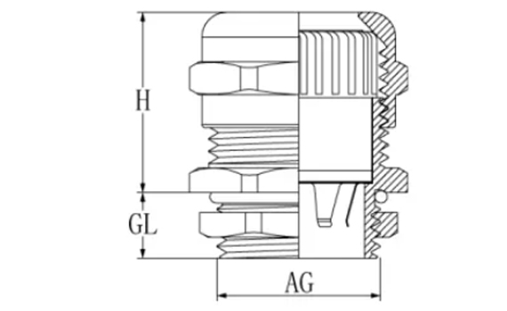 pg7 cable gland
