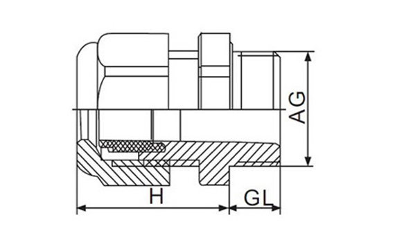 steel cable gland