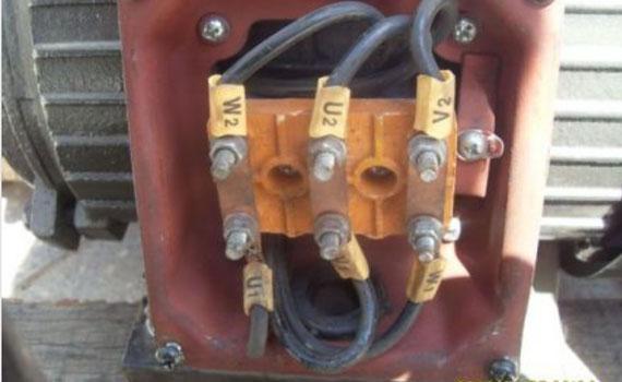 terminal block motor