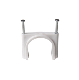 double nail cable clips