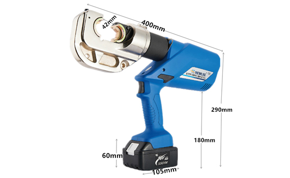 electric cable crimper
