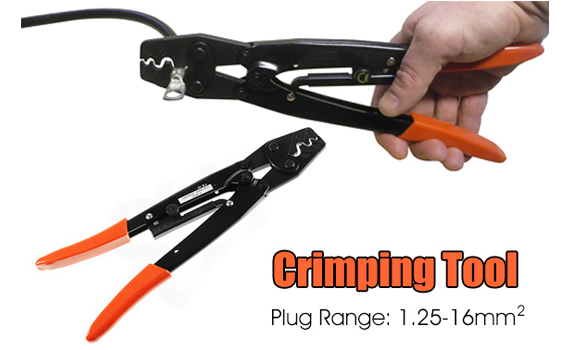 non-insulated crimping tool